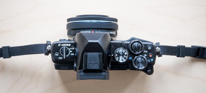 OM-D E-M10 mark II ovládací prvky