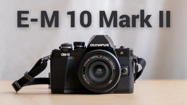 Olympus OM-D E-M10 Markii recenze cover