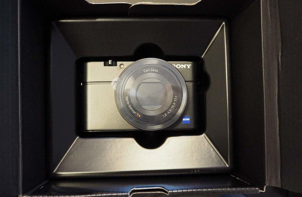 Sony RX100 krabice