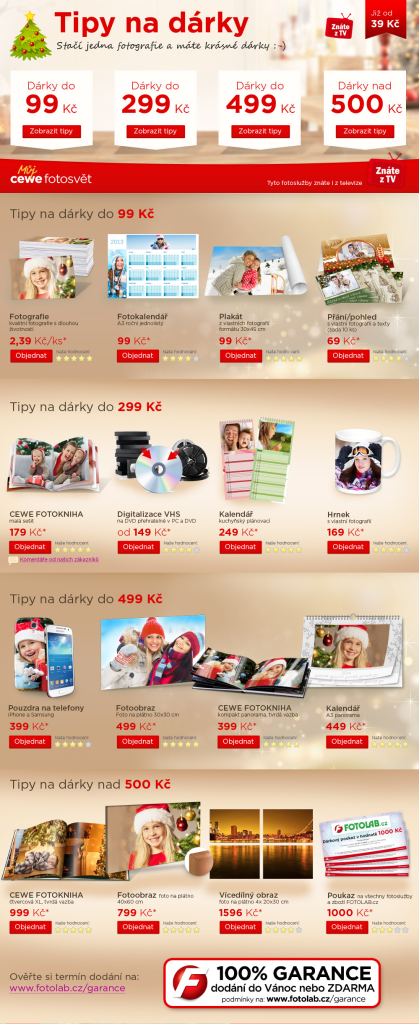 Vánoce 2013 - Tipy na dárky