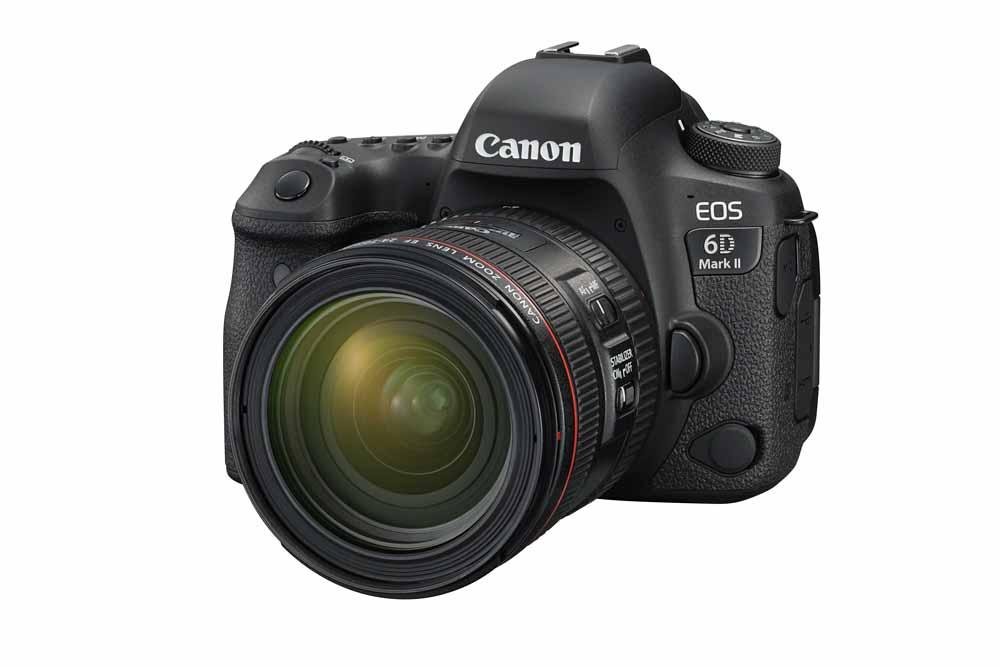 Nový Canon EOS 6D Mark II