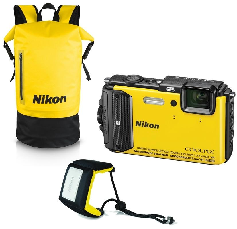 nikon_coolpix_aw130_diving-kit_zluty_z1