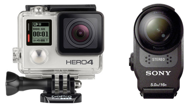GoPro Hero4 - Sony AS200V