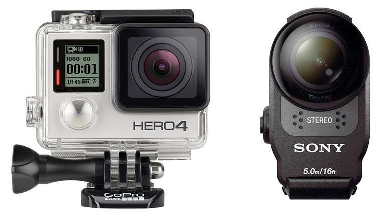 GoPro Hero4 - Sony AS200V