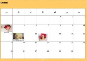 Foto v kalendáriu
