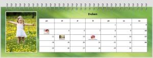 Fotky v kalendáři