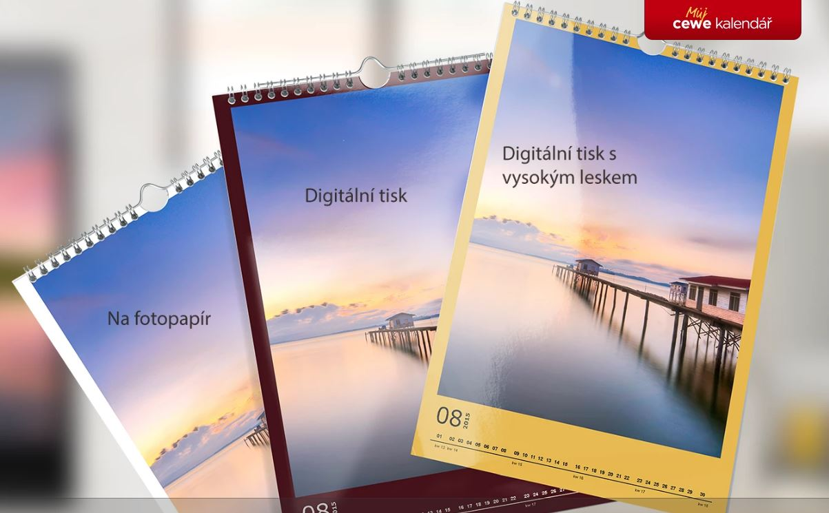 typy kalendářů