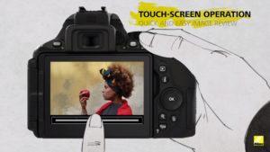 Nikon D5600 nabídne vylepšenou dotykovou obrazovku