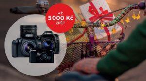 Canon zimni cashback akce