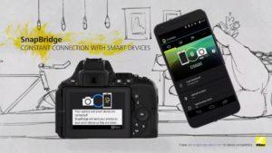 Technologie snapBridge umožní snadné připojení k chytrým zařízením