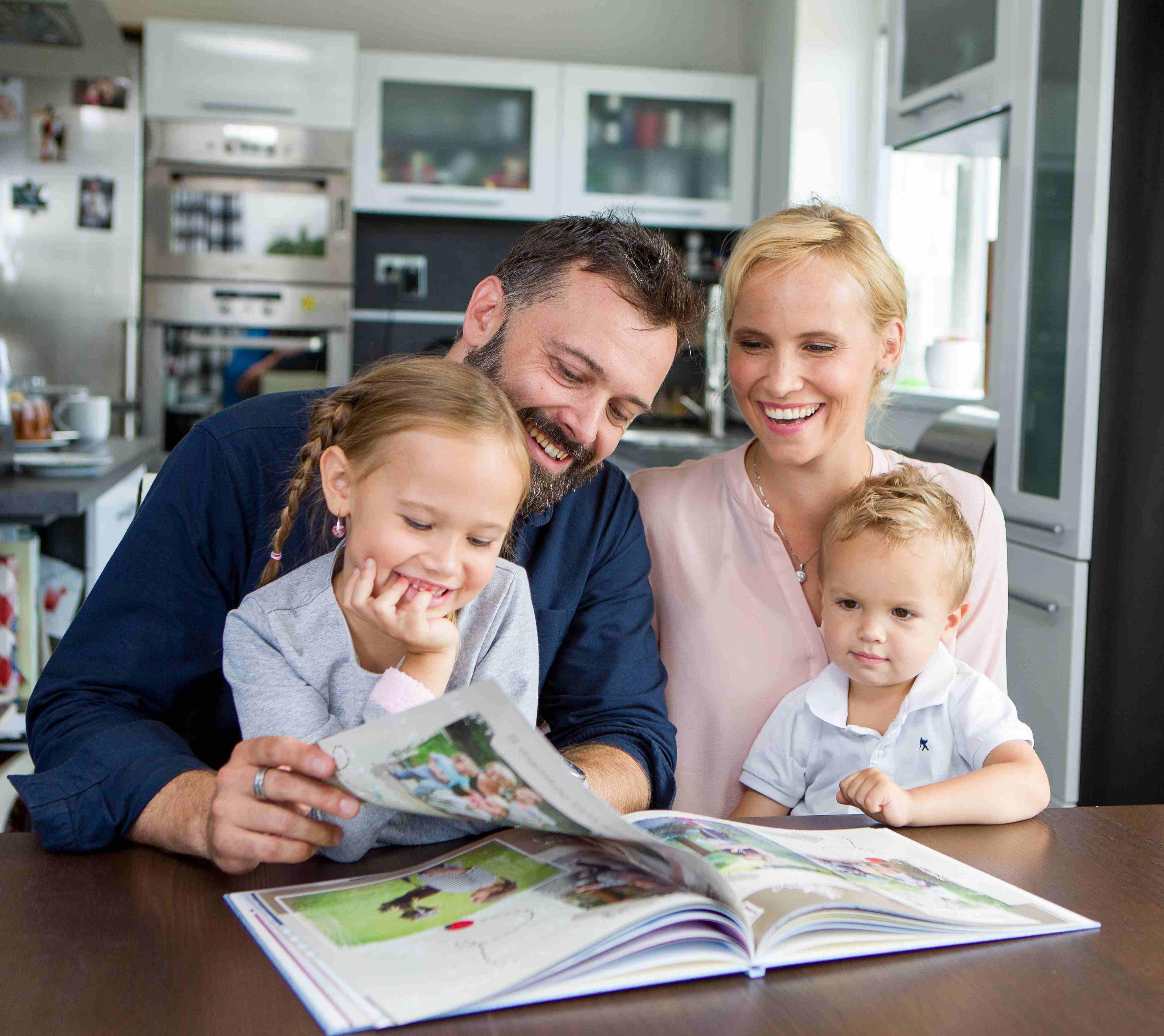Rodina Rehových: vytvořili si svou CEWE FOTOKNIHU, přihlásili do soutěže a dostali se až do finále.