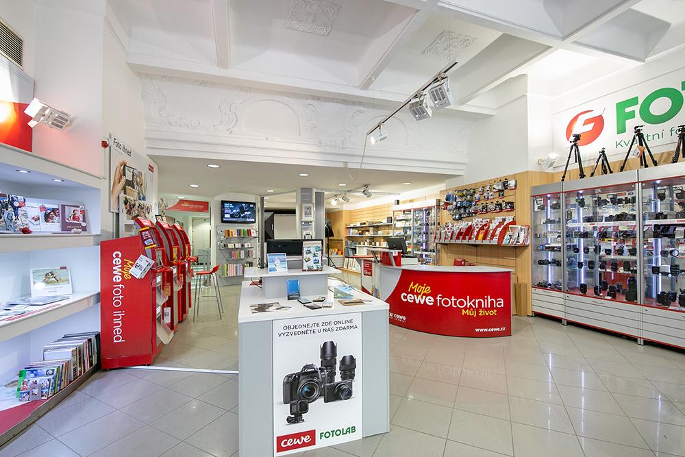 Prodejny CEWE FOTOLAB 49x v České republice