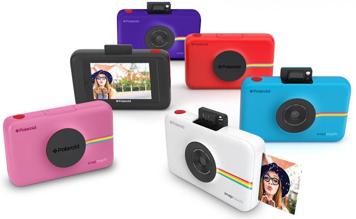 Polaroid Snap Touch všechny barvy