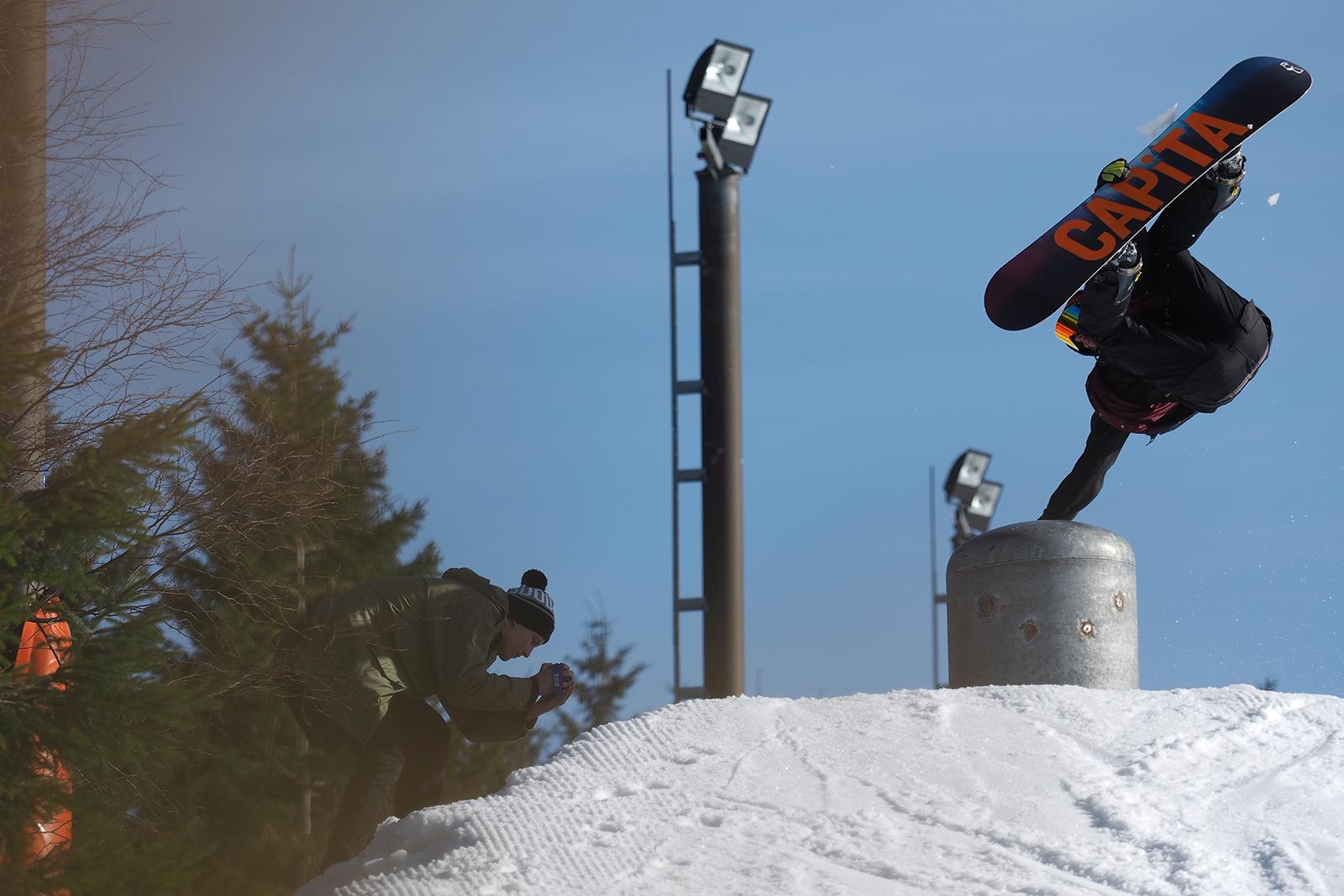 David Buček fotíme v zimě