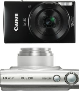 Novinka Canon Ixus 190