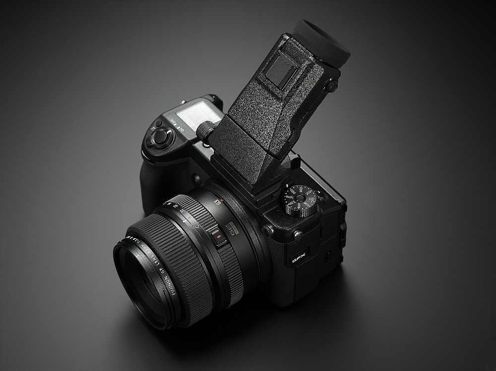 Fujifilm GFX hledáček