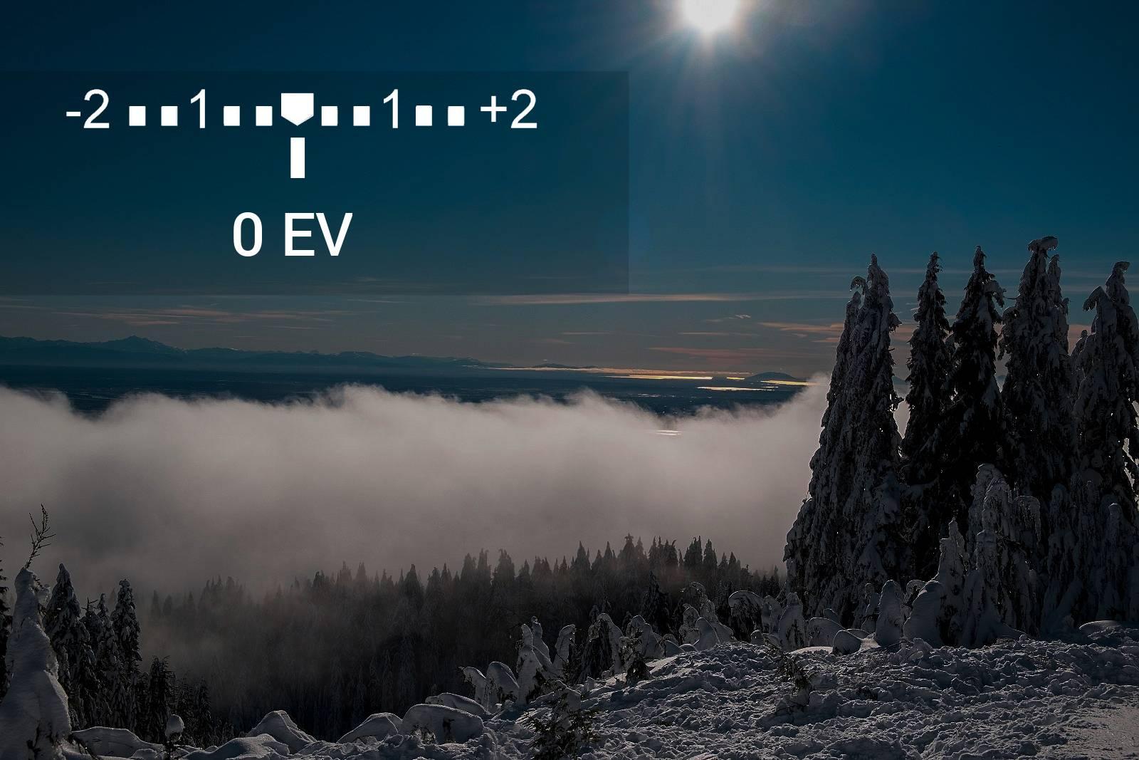 Kompenzace expozice 0EV
