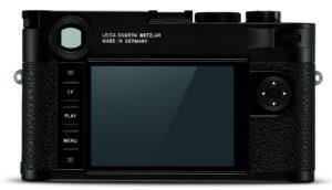 Leica M10 zadní strana
