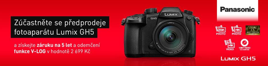 Lumix GH5 předprodej