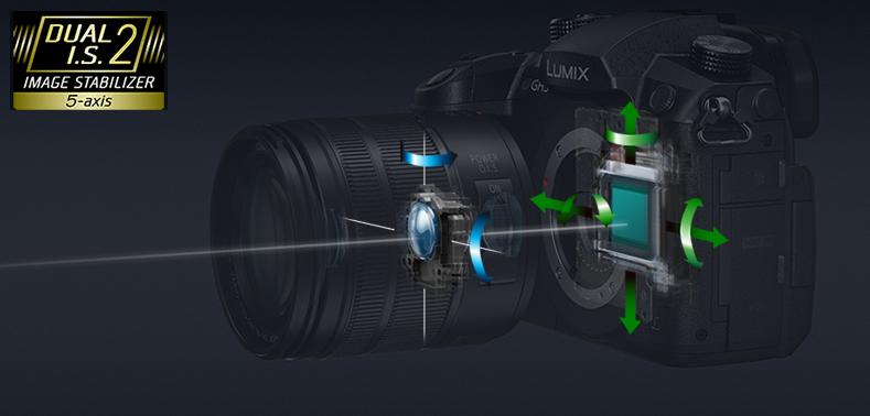 Panasonic Lumix GH5 stabilizace obrazu