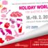 Veletrh cestovního ruchu Holiday World – přijďte na náš stánek.
