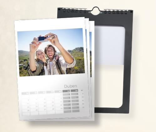 Kalendář s vlastní fotografií.