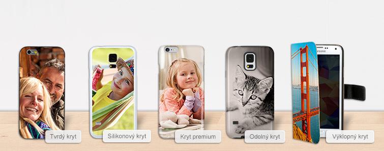 Kryty na chytrý telefon pro různé značky.