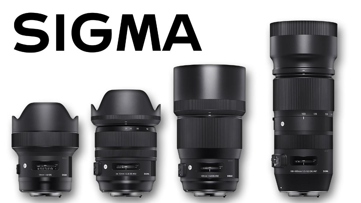 Nové objektivy Sigma