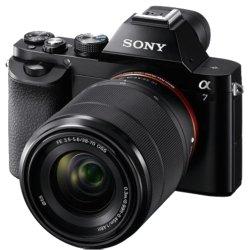 Sony A7 velikost snímače