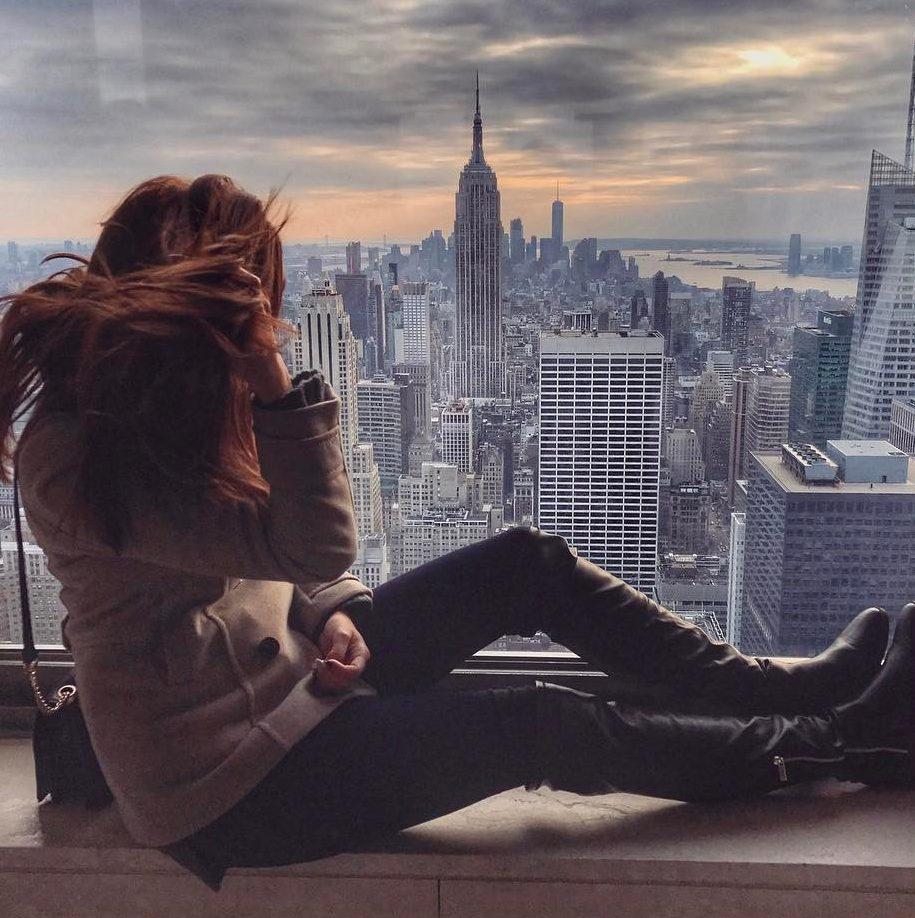 New York a Lucie Kovandová