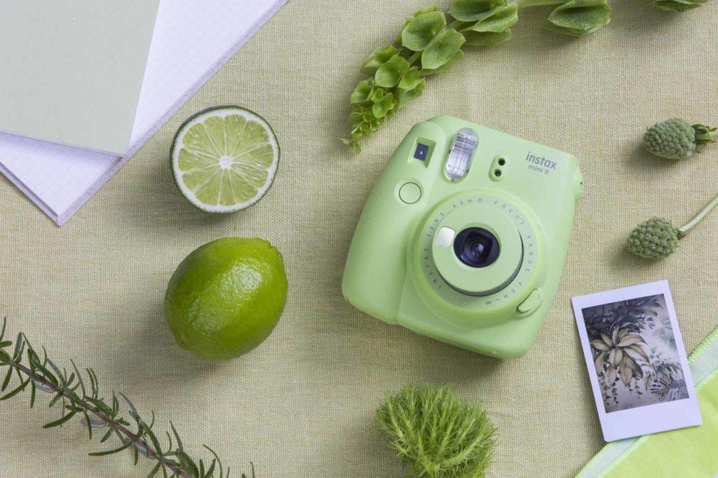Instax Mini 9 limetově zelená