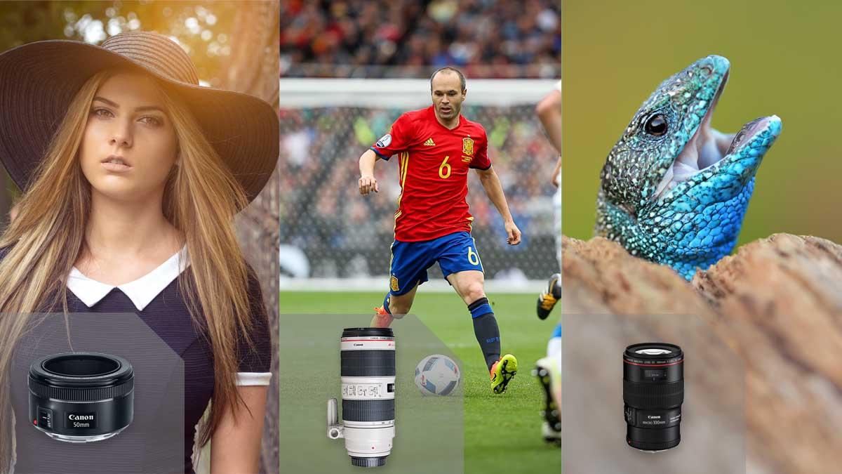 Rozdělení objektivů FOTOLAB fotorádce