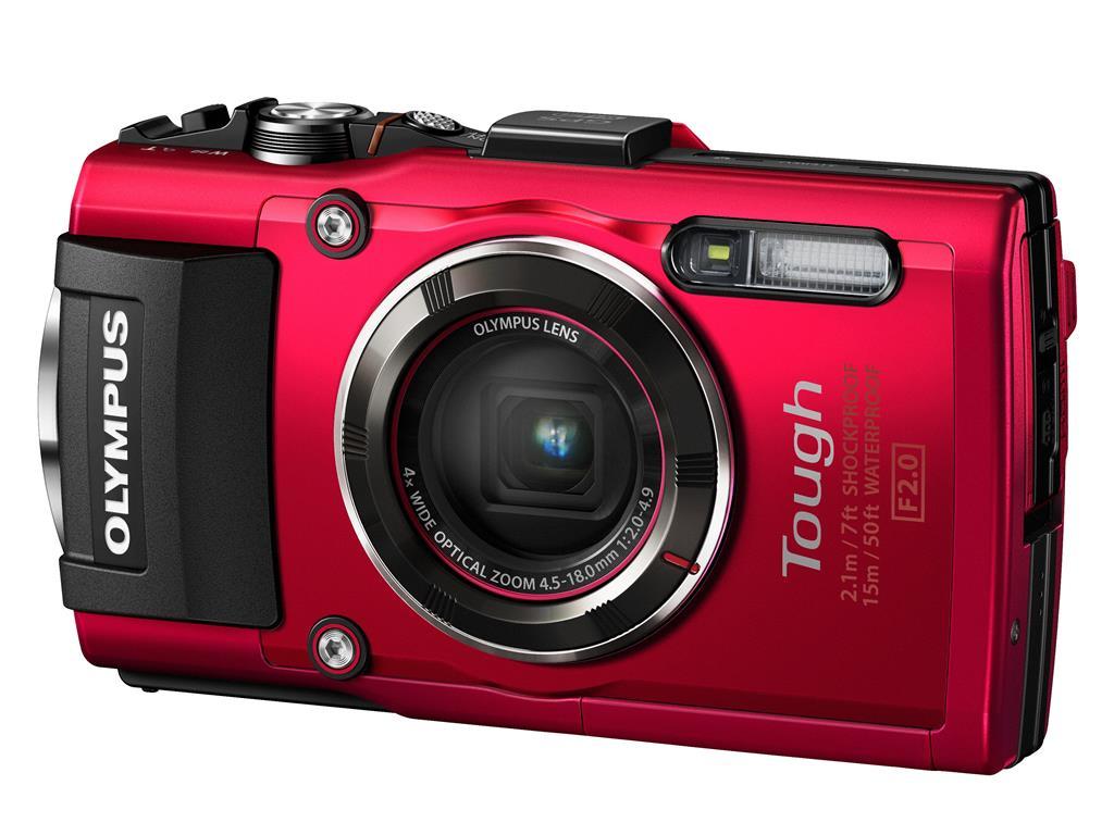 Fotoaparát na dovolenou Olympus TG4