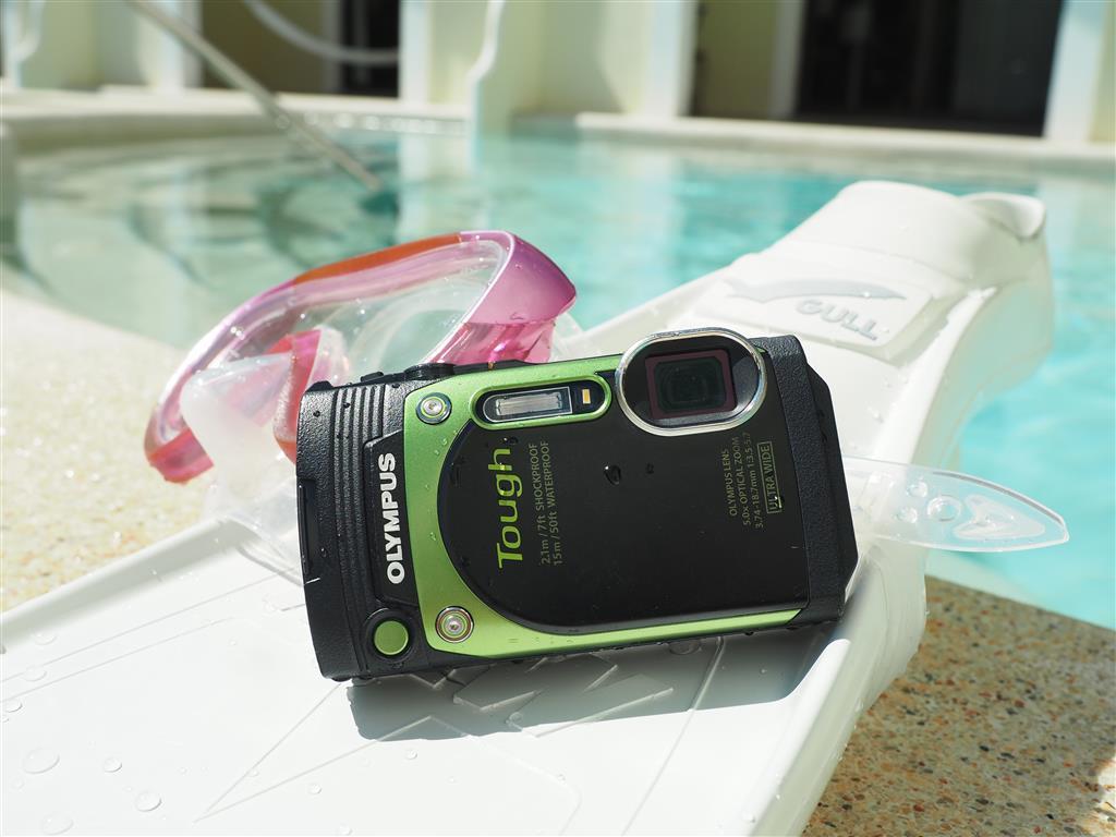 Odolná kamera fotoaparát na dovolenou