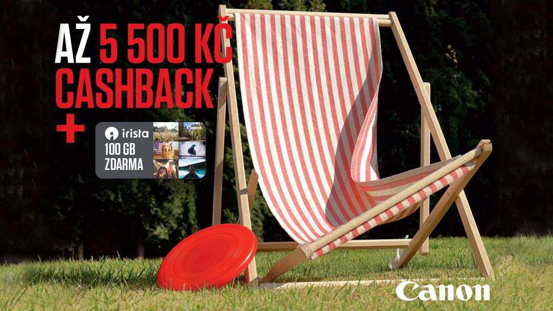 Canon letní cashback