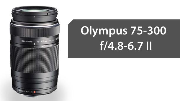 Olympus M. ZUIKO DIGITAL ED 75-300mm f/4.8-6.7 II