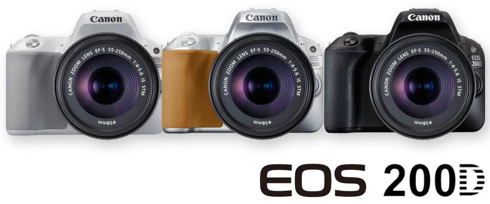 Canon EOS 200D novinka