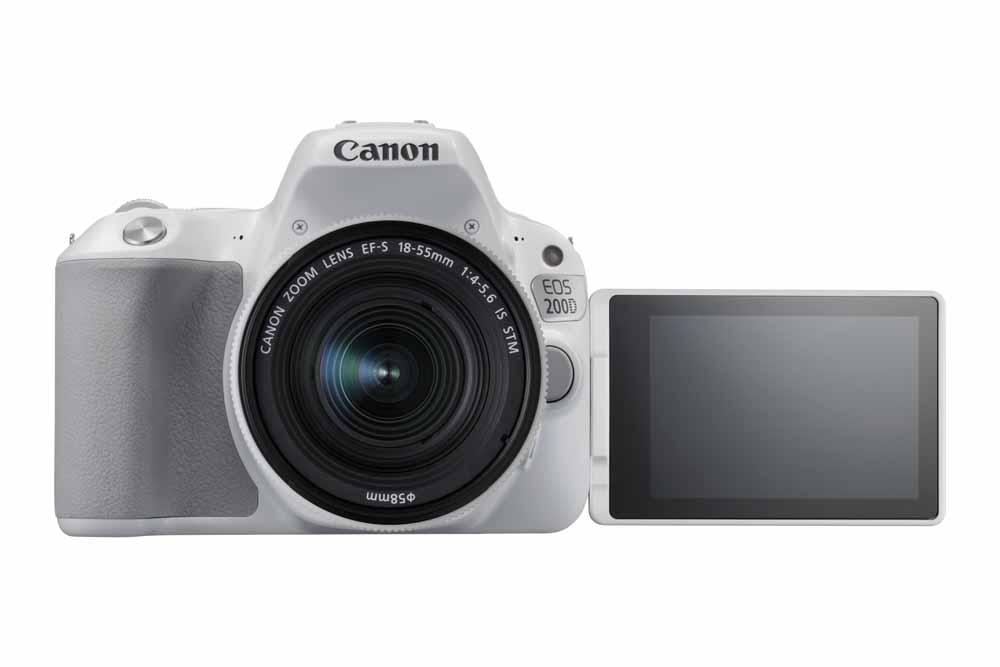 Canon 200D přední strana