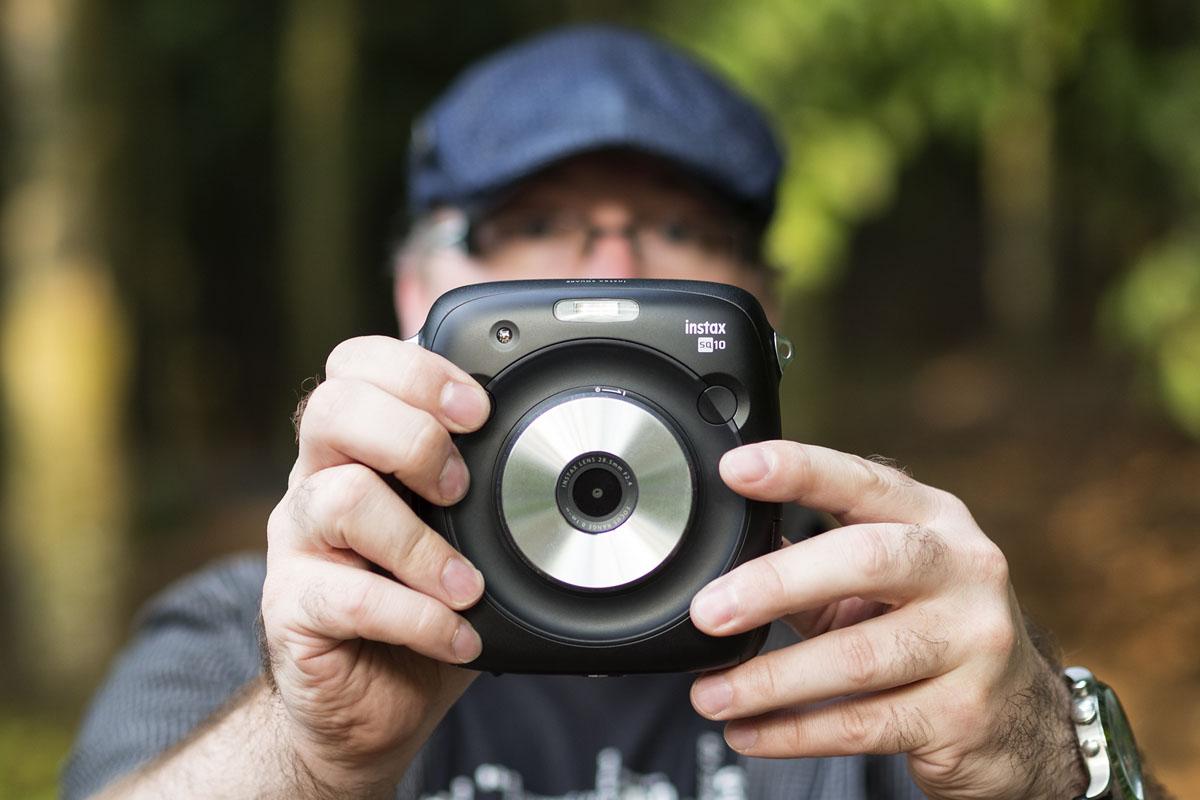 Fujifilm Instax SQUARE zepředu