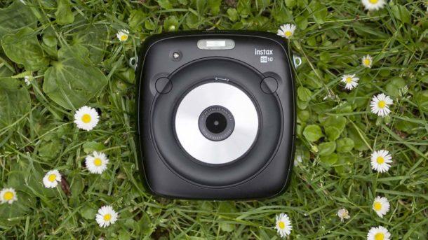 Instantní foťák polaroid INSTAX SQ10 recenze