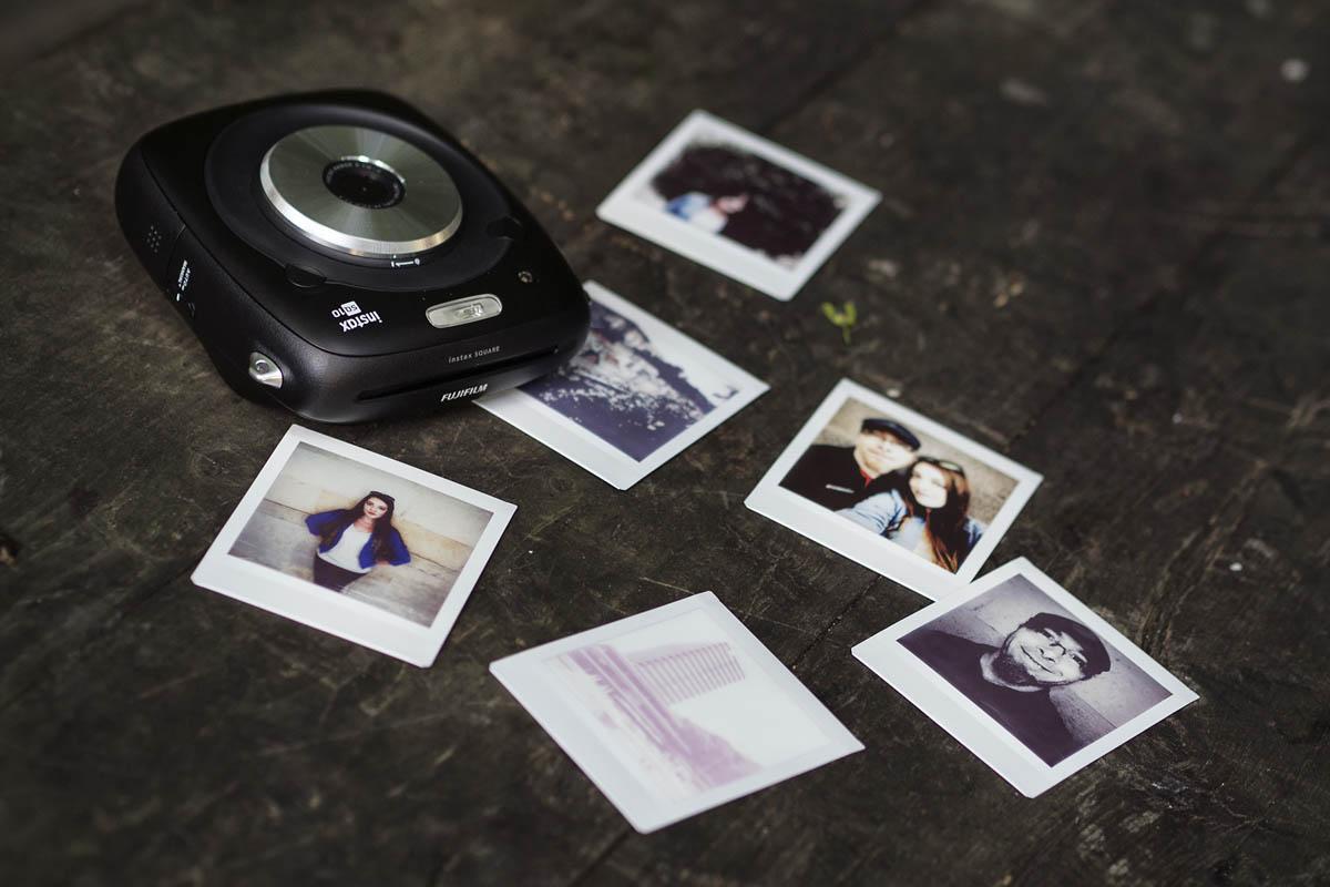 Fotky pořízené s Fujifilm Instax SQUARE