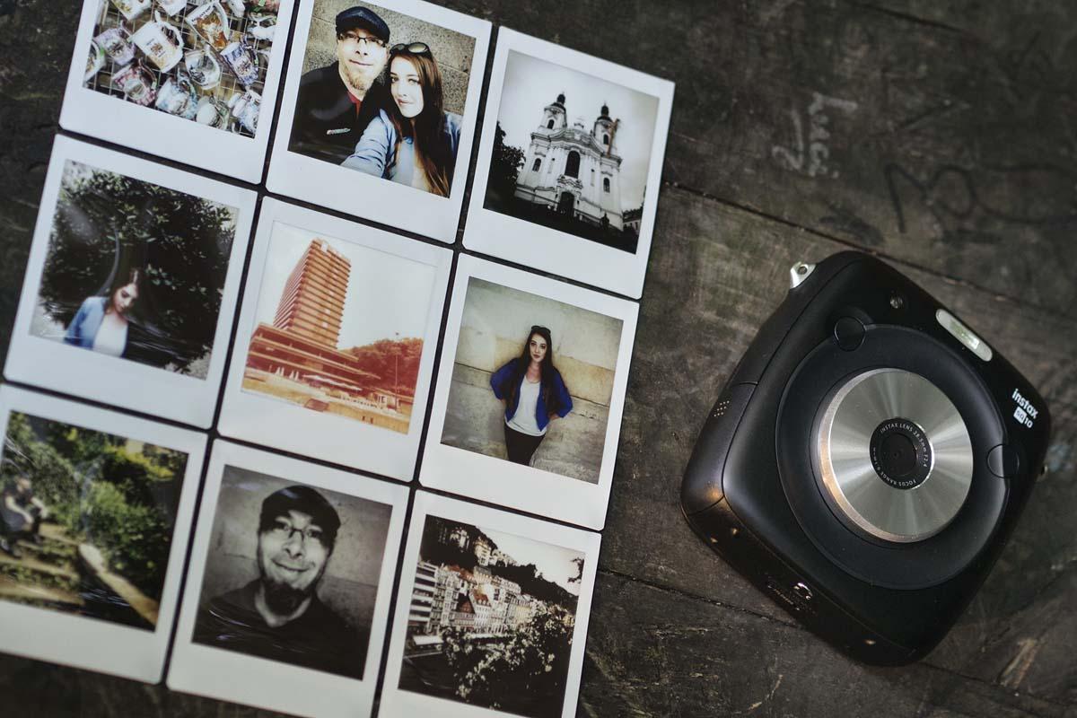 Fotky pořízené s Fujifilm Instax SQ10