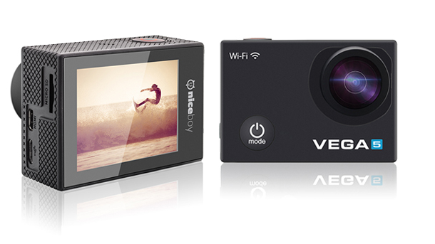Levná 4k akční kamera Niceboy VEGA5