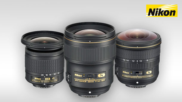 Nové objektivy Nikon