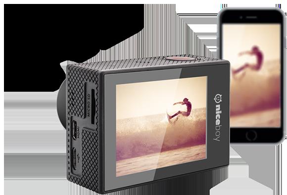 levná 4k akční kamera Wi-fi