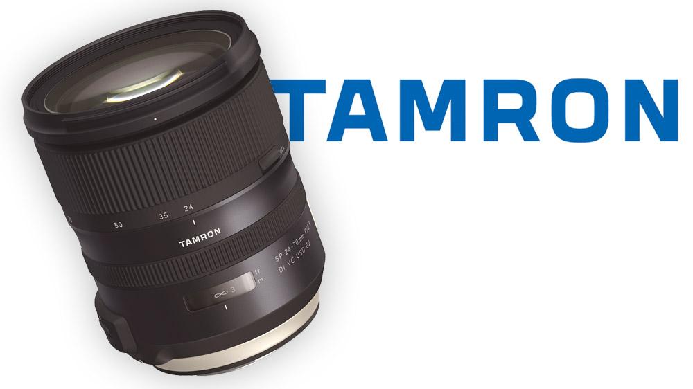 Nový objektiv 24-70mm Tamron f/2.8 VC G2