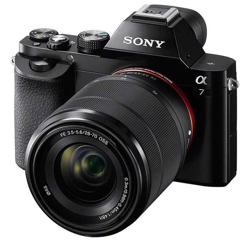 Sony Alpha A7 + 28-70 zapůjčení