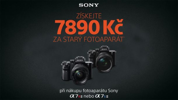 Sony alpha a7s mark II a alpha a7r mark II trade-in bonus