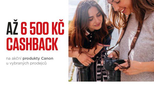 Akce Canon Podzimní Cashback