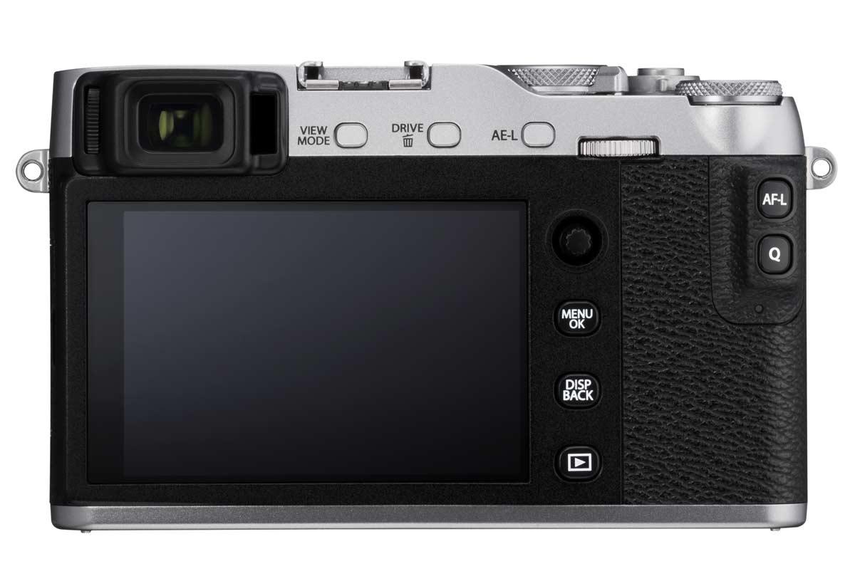 Fujifilm X-E3 displej